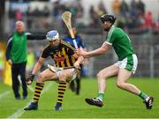 15 July 2018; TJ Reid of Kilkenny in action against Declan Hannon of Limerick during the GAA Hurling All-Ireland Senior Championship Quarter-Final match between Kilkenny and Limerick at Semple Stadium, Thurles, Co Tipperary. Photo by Ray McManus/Sportsfile