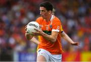 7 July 2018; Rory Grugan of Armagh during the GAA Football All-Ireland Senior Championship Round 4 match between Roscommon and Armagh at O'Moore Park in Portlaoise, Co. Laois. Photo by Brendan Moran/Sportsfile