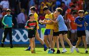 7 July 2018; Diarmuid Murtagh of Roscommon signs autographs for fans after the GAA Football All-Ireland Senior Championship Round 4 match between Roscommon and Armagh at O'Moore Park in Portlaoise, Co. Laois. Photo by Brendan Moran/Sportsfile