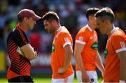 7 July 2018; Armagh manager Kieran McGeeney after the GAA Football All-Ireland Senior Championship Round 4 match between Roscommon and Armagh at O'Moore Park in Portlaoise, Co. Laois. Photo by Brendan Moran/Sportsfile