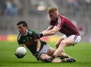 15 July 2018; Paul Murphy of Kerry in action against Seán Andy Ó Ceallaigh of Galway during the GAA Football All-Ireland Senior Championship Quarter-Final Group 1 Phase 1 match between Kerry and Galway at Croke Park, Dublin. Photo by David Fitzgerald/Sportsfile