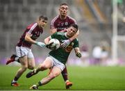 15 July 2018; Paul Murphy of Kerry in action against Eamonn Brannigan of Galway during the GAA Football All-Ireland Senior Championship Quarter-Final Group 1 Phase 1 match between Kerry and Galway at Croke Park, Dublin. Photo by David Fitzgerald/Sportsfile
