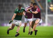 15 July 2018; Stephen O'Brien of Kerry in action against Shane Walsh of Galway during the GAA Football All-Ireland Senior Championship Quarter-Final Group 1 Phase 1 match between Kerry and Galway at Croke Park, Dublin. Photo by David Fitzgerald/Sportsfile