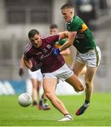 15 July 2018; Damien Comer of Galway in action against Jason Foley of Kerry during the GAA Football All-Ireland Senior Championship Quarter-Final Group 1 Phase 1 match between Kerry and Galway at Croke Park, Dublin. Photo by David Fitzgerald/Sportsfile