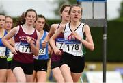 15 July 2018; Aoife Ni Cuill from St. Coca's A.C. Co Kildare who won the girls under-18 3000m during the Irish Life Health National T&F Juvenile Day 2 at Tullamore Harriers Stadium in Tullamore, Co Offaly. Photo by Matt Browne/Sportsfile