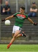 14 July 2018; Tommy Conroy of Mayo during the EirGrid GAA Football All-Ireland U20 Championship Semi-Final match between Mayo and Derry at Páirc Seán Mac Diarmada, in Carrick-on-Shannon. Photo by Piaras Ó Mídheach/Sportsfile