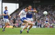8 July 2018; Ryan McAnespie of Monaghan during the GAA Football All-Ireland Senior Championship Round 4 match between Laois and Monaghan at Páirc Tailteann in Navan, Co Meath. Photo by Ramsey Cardy/Sportsfile