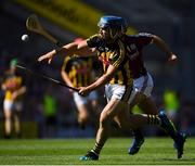1 July 2018; Ger Aylward of Kilkenny during the Leinster GAA Hurling Senior Championship Final match between Kilkenny and Galway at Croke Park in Dublin. Photo by Ramsey Cardy/Sportsfile