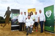 18 July 2018; In attendance, from left, are, FAI President Tony Fitzgerald, Darragh Griffin, DHL, Chris McElligot, FAI Football for All coach, Thierry Regenass, Executive Director of International Committee Red Cross Movability, Emma Mullen, Communications at FAI, Simon Baker, General Secretary of the European Amputee Football Federation and FAI CEO John Delaney during the Amputee Football Tanzania Project event at FAI HQ, Abbotstown, in Dublin. Photo by David Fitzgerald/Sportsfile
