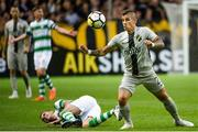 19 July 2018; Nicolas Stefanelli of AIK during the UEFA Europa League 1st Qualifying Round Second Leg match between AIK and Shamrock Rovers at Friends Arena in Stockholm, Sweden. Photo by Simon Hastegård/Sportsfile