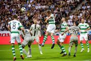 19 July 2018; Lee Grace of Shamrock Rovers during the UEFA Europa League 1st Qualifying Round Second Leg match between AIK and Shamrock Rovers at Friends Arena in Stockholm, Sweden. Photo by Simon Hastegård/Sportsfile