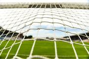 21 July 2018; A detailed view of a goal net at Semple Stadium ahead of the Electric Ireland GAA Hurling All-Ireland Minor Championship Quarter-Final Round 3 match between Limerick and Kilkenny at Semple Stadium in Thurles, Tipperary. Photo by Sam Barnes/Sportsfile