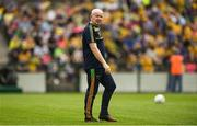 21 July 2018; Donegal manager Declan Bonner prior to the GAA Football All-Ireland Senior Championship Quarter-Final Group 2 Phase 2 match between Roscommon and Donegal at Dr Hyde Park in Roscommon. Photo by David Fitzgerald/Sportsfile