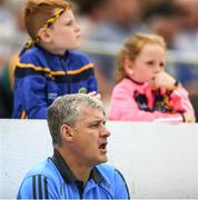21 July 2018; Roscommon manager Kevin McStay watches on from the substitute bench during the GAA Football All-Ireland Senior Championship Quarter-Final Group 2 Phase 2 match between Roscommon and Donegal at Dr Hyde Park in Roscommon. Photo by David Fitzgerald/Sportsfile