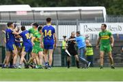 21 July 2018; Roscommon manager Kevin McStay remonstrates with an official during the GAA Football All-Ireland Senior Championship Quarter-Final Group 2 Phase 2 match between Roscommon and Donegal at Hyde Park in Roscommon. Photo by David Fitzgerald/Sportsfile