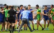 21 July 2018; Roscommon manager Kevin McStay remonstrated with officials during a tussle during the GAA Football All-Ireland Senior Championship Quarter-Final Group 2 Phase 2 match between Roscommon and Donegal at Dr.Hyde Park in Roscommon. Photo by Ramsey Cardy/Sportsfile