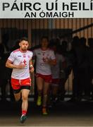 21 July 2018; Mattie Donnelly of Tyrone runs out prior to the GAA Football All-Ireland Senior Championship Quarter-Final Group 2 Phase 2 match between Tyrone and Dublin at Healy Park in Omagh, Tyrone. Photo by Stephen McCarthy/Sportsfile
