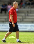 21 July 2018; Cork manager Ephie Fitzgerald prior to the TG4 All-Ireland Senior Championship Group 2 Round 2 match between Cork and Monaghan at St Brendan's Park in Birr, Co. Offaly.  Photo by Brendan Moran/Sportsfile