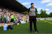 22 July 2018; Kerry manager Eamonn Fitzmaurice during the GAA Football All-Ireland Senior Championship Quarter-Final Group 1 Phase 2 match between Monaghan and Kerry at St Tiernach's Park in Clones, Monaghan. Photo by Ramsey Cardy/Sportsfile