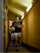 22 July 2018; Gavin White of Kerry runs out ahead of the GAA Football All-Ireland Senior Championship Quarter-Final Group 1 Phase 2 match between Monaghan and Kerry at St Tiernach's Park in Clones, Monaghan. Photo by Ramsey Cardy/Sportsfile