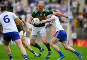 22 July 2018; Kieran Donaghy of Kerry in action against Karl O'Connell of Monaghan during the GAA Football All-Ireland Senior Championship Quarter-Final Group 1 Phase 2 match between Monaghan and Kerry at St Tiernach's Park in Clones, Monaghan. Photo by Brendan Moran/Sportsfile