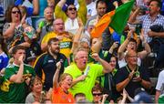 22 July 2018; A group of Kerry supporters applaud their side off the pitch following a draw in the GAA Football All-Ireland Senior Championship Quarter-Final Group 1 Phase 2 match between Monaghan and Kerry at St Tiernach's Park in Clones, Monaghan. Photo by Ramsey Cardy/Sportsfile