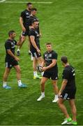 24 July 2018; Jordan Larmour during Leinster Rugby squad training at Energia Park in Donnybrook, Dublin. Photo by Ramsey Cardy/Sportsfile