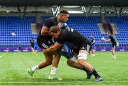24 July 2018; Adam Byrne, left, and Rhys Ruddock during Leinster Rugby squad training at Energia Park in Donnybrook, Dublin. Photo by Ramsey Cardy/Sportsfile