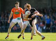 23 June 2018; Sean Carrabine of Sligo in action against Aidan Forker of Armagh during the GAA Football All-Ireland Senior Championship Round 2 match between Sligo and Armagh at Markievicz Park in Sligo. Photo by Oliver McVeigh/Sportsfile