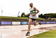 28 July 2018; Kevin Maunsell of Clonmel A.C., Co. Tipperary, competing in the Senior Men 10,000m during the Irish Life Health National Senior T&F Championships Day 1 at Morton Stadium in Santry, Dublin. Photo by Sam Barnes/Sportsfile