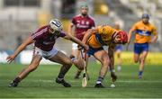 28 July 2018; Daithi Burke of Galway in action against John Conlon of Clare during the GAA Hurling All-Ireland Senior Championship semi-final match between Galway and Clare at Croke Park in Dublin. Photo by David Fitzgerald/Sportsfile