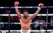 28 July 2018; Frank Buglioni following his Light-Heavyweight contest with Emmanuel Feuzeu at The O2 Arena in London, England. Photo by Stephen McCarthy/Sportsfile