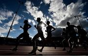 28 July 2018; A general view during the Senior Men's 5000m event during the Irish Life Health National Senior T&F Championships Day 1 at Morton Stadium in Santry, Dublin. Photo by Sam Barnes/Sportsfile