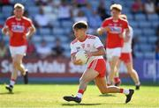 7 July 2018; Mark Bradley of Tyrone during the GAA Football All-Ireland Senior Championship Round 4 between Cork and Tyrone at O'Moore Park in Portlaoise, Co. Laois. Photo by Brendan Moran/Sportsfile