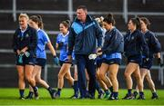 28 July 2018; Dublin manager Mick Bohan prior to the TG4 All-Ireland Ladies Football Senior Championship qualifier Group 1 Round 3 match between Dublin and Mayo at Dr Hyde Park in Roscommon. Photo by Brendan Moran/Sportsfile