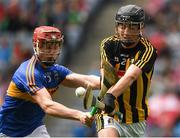 29 July 2018; Pádraig Dempsey of Kilkenny in action against Seán Hayes of Tipperary during the Electric Ireland GAA Hurling All-Ireland Minor Championship Semi-Final match between Tipperary and Kilkenny at Croke Park, Dublin. Photo by Ray McManus/Sportsfile