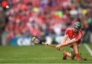 29 July 2018; Mark Coleman of Cork scores from a first half sideline during the GAA Hurling All-Ireland Senior Championship semi-final match between Cork and Limerick at Croke Park in Dublin. Photo by Stephen McCarthy/Sportsfile