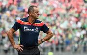 29 July 2018; Cork manager John Meyler during the closing stages of the GAA Hurling All-Ireland Senior Championship semi-final match between Cork and Limerick at Croke Park in Dublin. Photo by Stephen McCarthy/Sportsfile