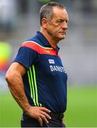 29 July 2018; Cork manager John Meyler following his side's defeat in the GAA Hurling All-Ireland Senior Championship semi-final match between Cork and Limerick at Croke Park in Dublin. Photo by Ramsey Cardy/Sportsfile