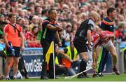29 July 2018; Cork manager John Meyler during the GAA Hurling All-Ireland Senior Championship semi-final match between Cork and Limerick at Croke Park in Dublin. Photo by Ramsey Cardy/Sportsfile