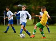 29 July 2018; Actoin from Mullingar Athletic against Newbridge Town, during Ireland's premier underaged soccer tournament, the Volkswagen Junior Masters. The competition sees U13 teams from around Ireland compete for the title and a €2,500 prize for their club, over the days of July 28th and 29th, at AUL Complex in Dublin. Photo by Seb Daly/Sportsfile