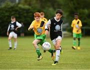 29 July 2018; Action from Roscommon Cubs against Mullingar Athletic, during Ireland's premier underaged soccer tournament, the Volkswagen Junior Masters. The competition sees U13 teams from around Ireland compete for the title and a €2,500 prize for their club, over the days of July 28th and 29th, at AUL Complex in Dublin. Photo by Seb Daly/Sportsfile