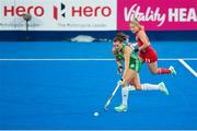29 July 2018; Deirdre Duke of Ireland in action during the Women's Hockey World Cup Finals Group B match between England and Ireland at Lee Valley Hockey Centre, QE Olympic Park in London, England. Photo by Craig Mercer/Sportsfile