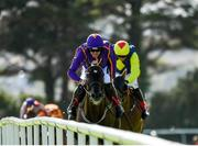 30 July 2018; Easy Game, with Ruby Walsh up, on their way to winning the Galmont.com & Galwaybayhotel.com Novice Hurdle during the Galway Races Summer Festival 2018, in Ballybrit, Galway. Photo by Seb Daly/Sportsfile