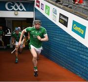 29 July 2018; Declan Hannon of Limerick before the GAA Hurling All-Ireland Senior Championship semi-final match between Cork and Limerick at Croke Park in Dublin. Photo by Ray McManus/Sportsfile