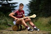 1 August 2018; Mark Coleman of Cork, Conor Firman of Wexford, Fintan Burke of Galway and Mark Kehoe of Tipperary today attended the Bord Gáis Energy GAA Hurling U-21 All-Ireland Semi-Finals preview, held at Carrickgollogan, Co. Dublin, ahead of the penultimate round of this year's Championship. Munster winners Cork play Wexford in Nowlan Park on Saturday, 4 August while Leinster champions Galway meet Tipperary at the Gaelic Grounds, Limerick on Wednesday, 8 August. Pictured is Fintan Burke of Galway. Photo by Brendan Moran/Sportsfile