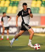 1 August 2018; Michael Duffy during a Dundalk training session at the AEK Arena in Larnaca, Cyprus. Photo by Stephen McCarthy/Sportsfile