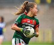 14 July 2018; Sarah Rowe of Mayo during the TG4 All-Ireland Ladies Football Senior Championship Group 4 Round 1 match between Cavan and Mayo at St Tiernach's Park, in Clones, Monaghan. Photo by Oliver McVeigh/Sportsfile