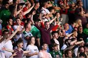 3 August 2018; Cork City supporters during the SSE Airtricity League Premier Division match between Waterford and Cork City at the RSC in Waterford. Photo by Stephen McCarthy/Sportsfile
