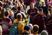 5 August 2018; Joe Canning of Galway arrives ahead of the GAA Hurling All-Ireland Senior Championship semi-final replay between Galway and Clare at Semple Stadium in Thurles, Co Tipperary. Photo by Ramsey Cardy/Sportsfile